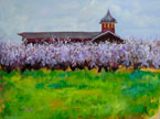 Oberthier Barn Painting