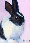 Easter Rabbit #1 Oil Painting
