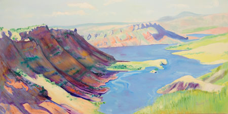 Flaming Gorge Oil on Canvas