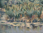 Cattails Painting