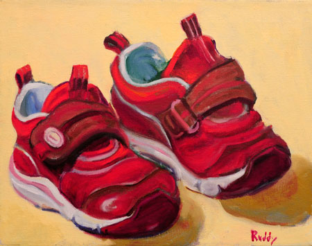 Toddler Tennies Painting