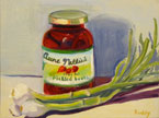 Pickled Beets Painting