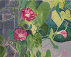 Morning Glories Painting